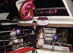 Cem Belevi'den Zehra Yılmaz'a  sürpriz doğum günü partisi