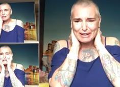 İrlandalı şarkıcı Sinead O'Connor'dan endişelendirici video