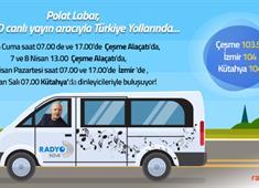 Polat Labar Türkiye Yollarında!