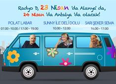 Radyo D Antalya ve Alanya'ya geliyor...