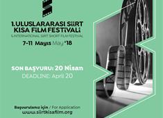Siirt Kısa Film Festivali 7 Mayıs'ta başlıyor