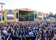 Müzik severler Çukurova Rock Festivali'nde buluştu!